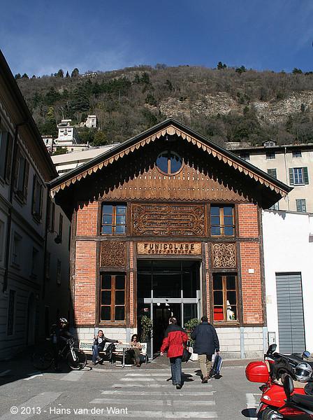 21 march 2013, Lago di Como, Funicolare Como - Brunate.