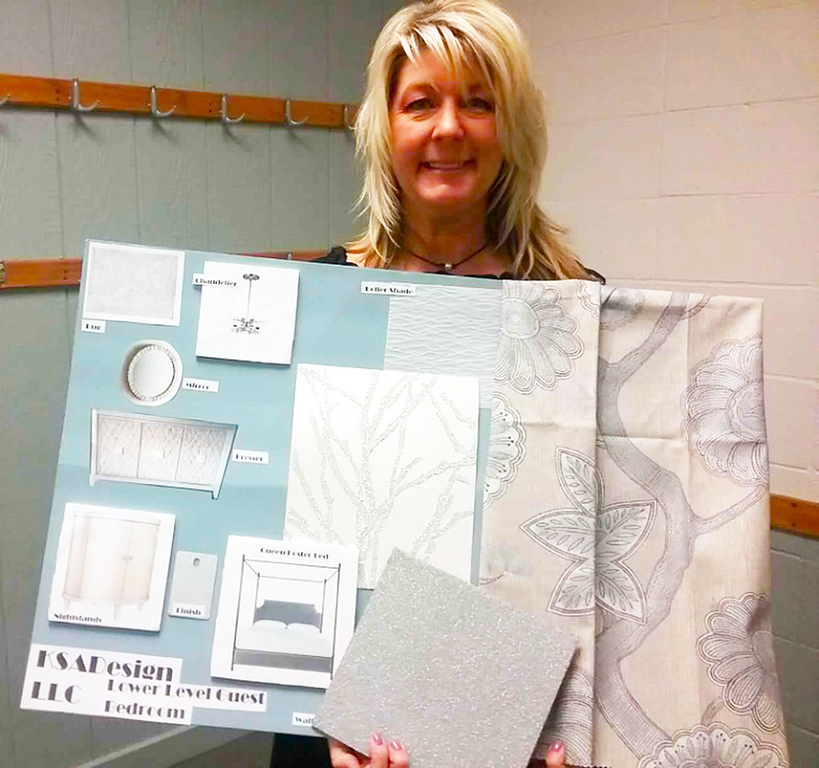 . The lower level sitting room and guest room of the 2018 Lake County YMCA Dream House will be designed by Karen Koeth of KSA Design in Concord Township. The lower level of the 2018 Dream House comprises approximately 1,000 square feet. {Jean Bonchak For The News-Herald}