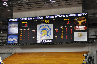 SDSU Aztecs vs SJSU Spartans MBB 1.22.2014