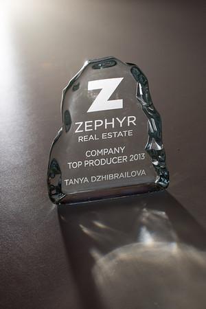 Zephyr Awards Jan. 2014