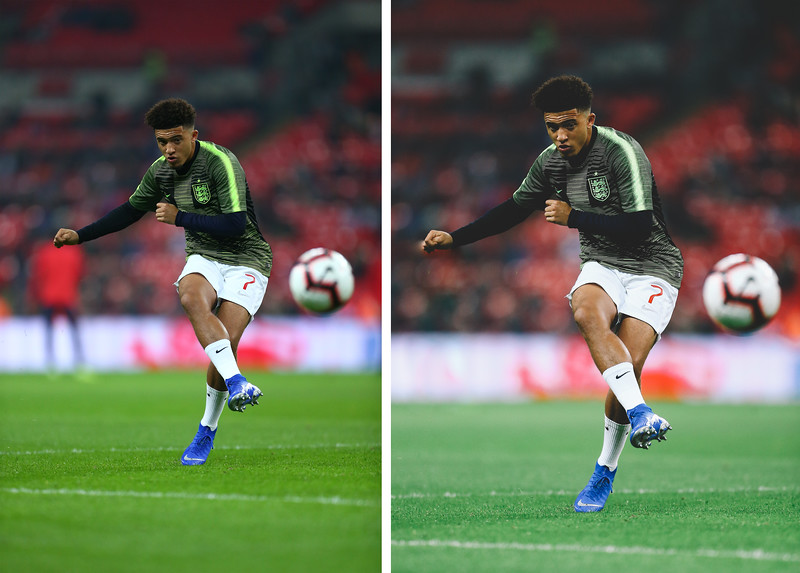 Jadon Sancho for Nike