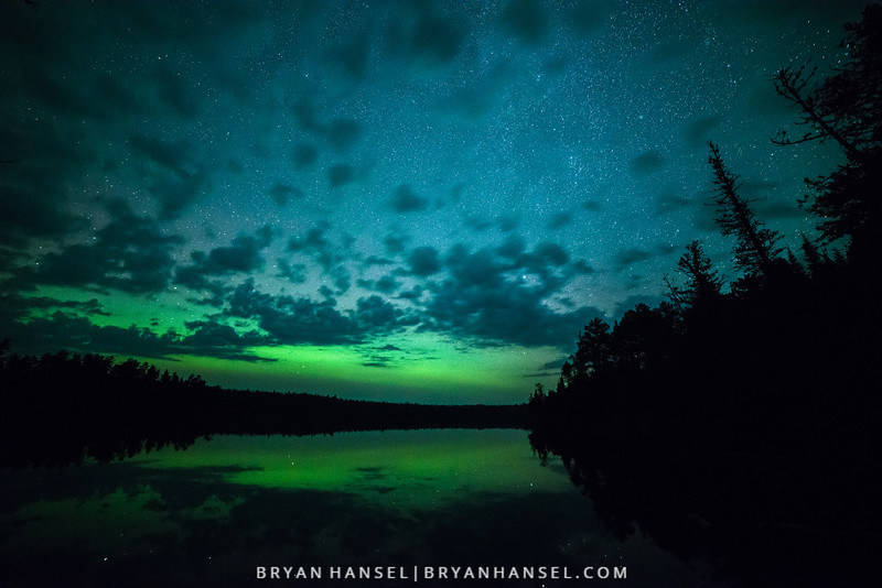 Northern Lights over Bearskin