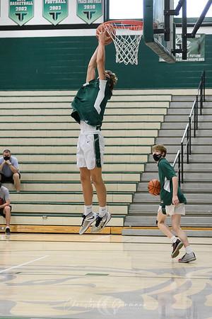 THS Boys Varsity Basketball vs Franklin