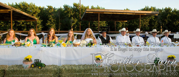 Reception - Head Table