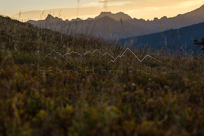 Gore Range, CO at Sunrise