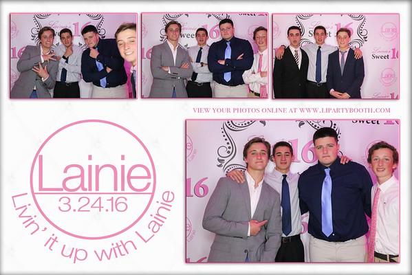 Lainie's Sweet 16