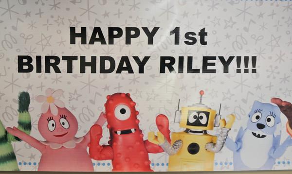 Rileys 1st Bday Celebration