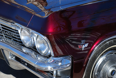 1965 Impala Candy Red