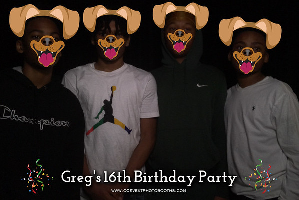 Greg's 16th Birthday Party 03/13/21