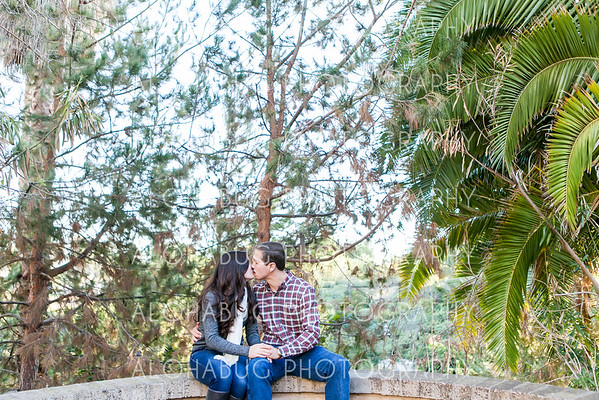 Balboa Park Engagement Photos
