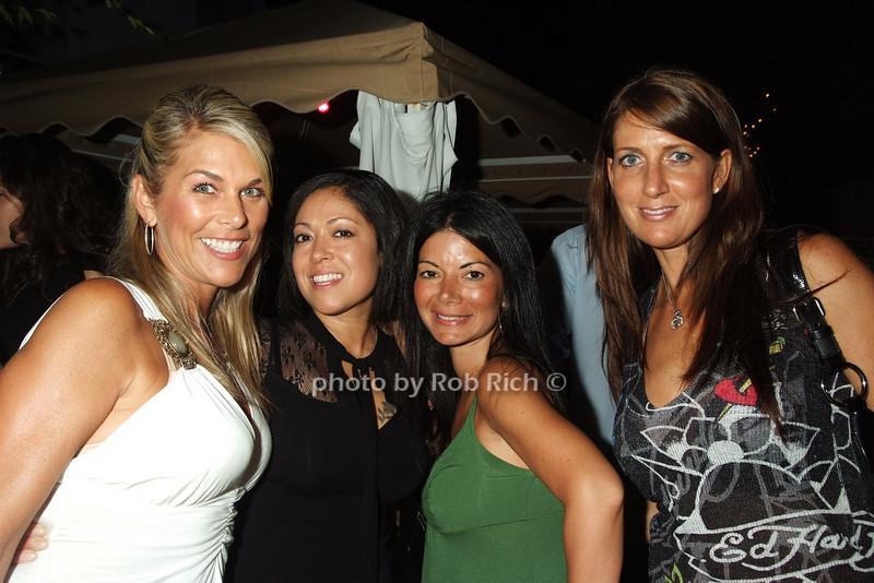 Jen Colwell, Sharon Rivera, Iliana Zambrano, Sherand photo by Rob Rich © 2008 516-676-3939 robwayne1@aol.com