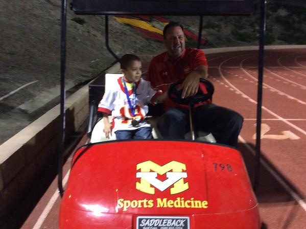 Mission Viejo High School & honorary captain Jaime Hernandez