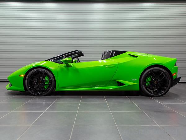 '`17 Huracan LP610-4 Spyder - Verdes Mantis