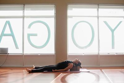 Our new yoga Instructor Lana! Jiaren Yoga Photoshoot by Kpatelphotography