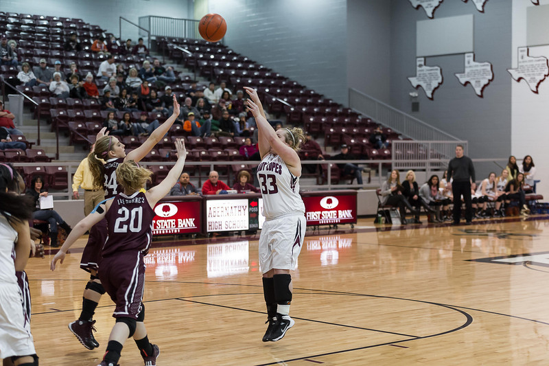 Lady Lopes BB vs Tulia, 1-3-2014