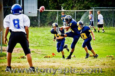 7th Grade Westside VS New Hope 22 Sept 2011