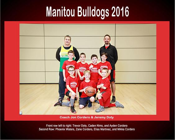 Manitou Bulldogs 2016