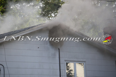 Massapequa F.D. House Fire 733 Clocks Blvd 6-18-12