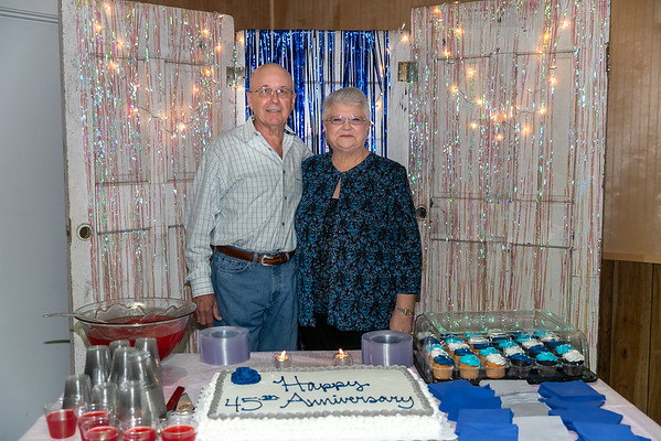 James & Patsy's 45th Wedding Anniversary