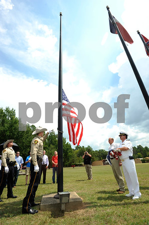 8/24/15 Rep. Gohmert presents flag to Camp Ford by Andrew D. Brosig