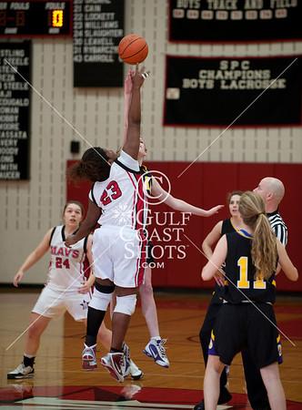 2010-01-29 Basketball Varsity Girls Kinkaid at SJS