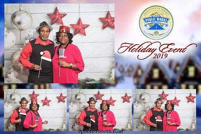 Public Works Holiday Event