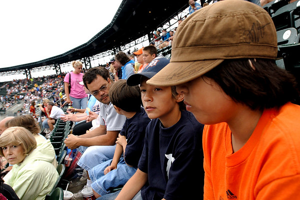 8/5/07 Detroit Tigers vs. Chicago White Sox with Phil and the kids