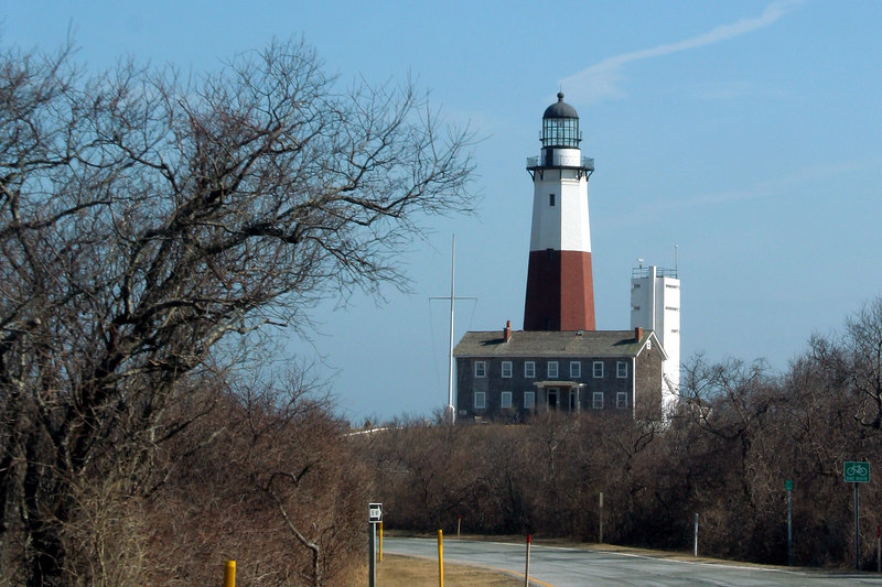 The journey to Montauk during one of my trips home.