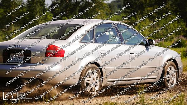 83 Silver Audi A6