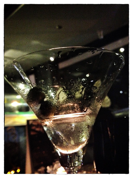 Delhi, India, Feb 2013 -   Photograph of Martini served at an upscale restaurant in Delhi.     Images for the Global Post's special report -   The Great Divide:  Global income inequality and its cost    Photograph:  Sami SIVA