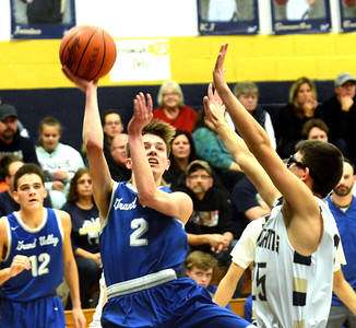 Grand Valley-Conneaut boys basketball 12-29-18