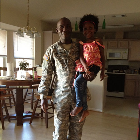Adama Diomande, U.S. National Guard, spouse of Kasandra Diomande.