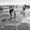 Polar Bear Swim at Catalan Bay