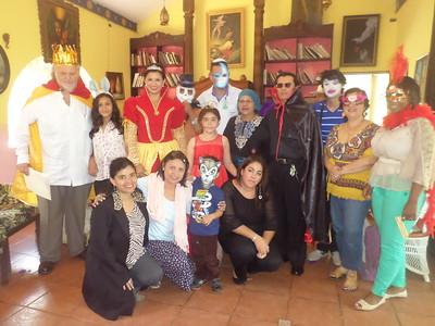 Purim, 2014 - Nicaragua