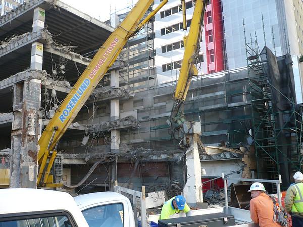 Albert St Demolition