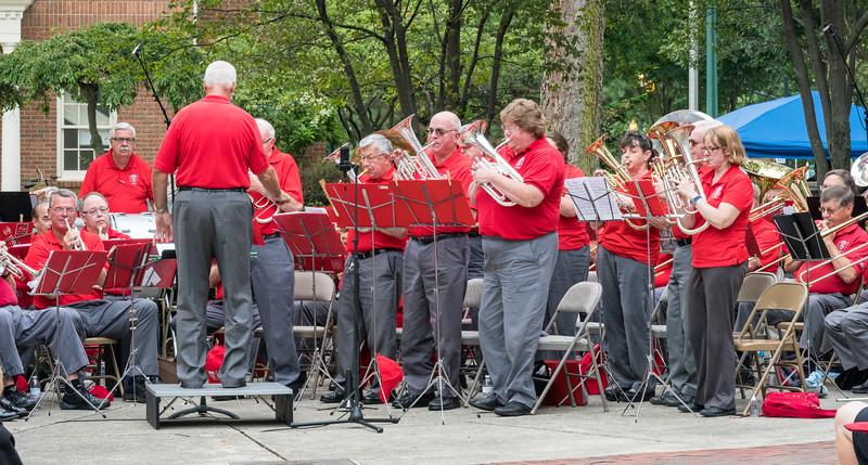Nine Horns perform the Sweet Horn Rag