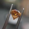 .84ct Fancy Deep Orange-Yellow Shield Shape Diamond, GIA 6