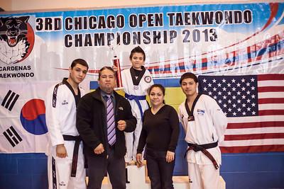 3rd Chicago Open Taekwondo Championship -Porto's Martial Arts Academy Team