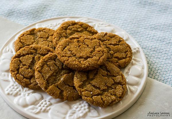 Molasses Ginger Cookies - Catalog #4063