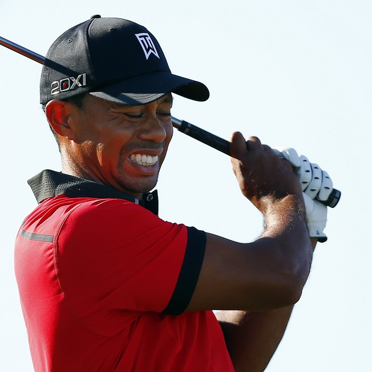 ". <p>6. (tie) TIGER WOODS  <p>He�s fallen, and he can�t get up to 18 majors. (unranked) <p><b><a href=\'http://ftw.usatoday.com/2013/08/tiger-woods-drops-to-his-knees-after-tweaking-his-back/\' target=""_blank\""> HUH?</a></b> <p>    (AP Photo/Rich Schultz)"