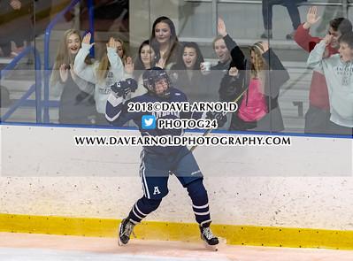 12/5/2018 - Boys Varsity Hockey - Thayer vs Andover
