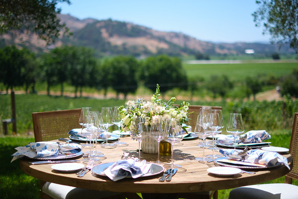 Vintner's Luncheon hosted by Austin and Sara Hills