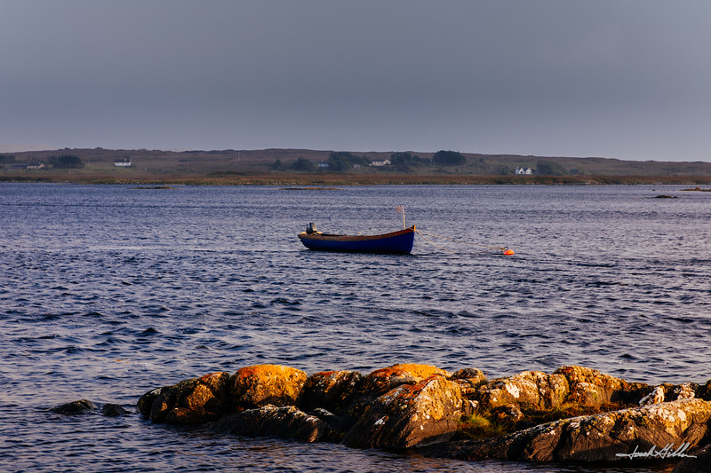 Fishing Boat moored up for the night