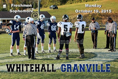 2015 Whitehall at Granville (10-19-15) Freshmen & Sophomore