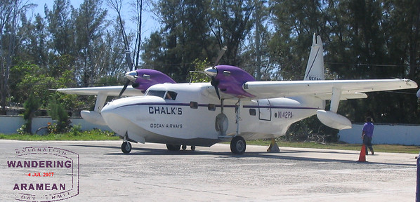 The Flying Boat of Chalk's Ocean Air