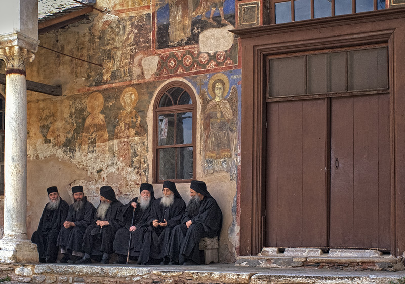 Priests from Great Lavra
