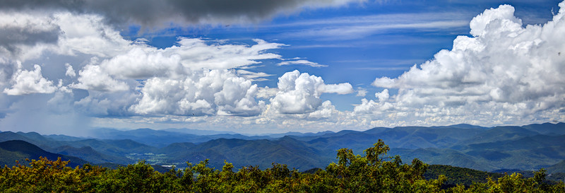 View from Rabun  Bald