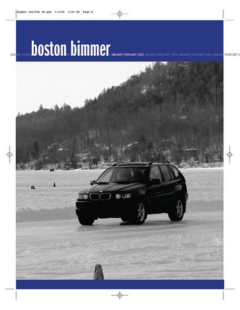 Boston Chapter newsletter, January-February 2006