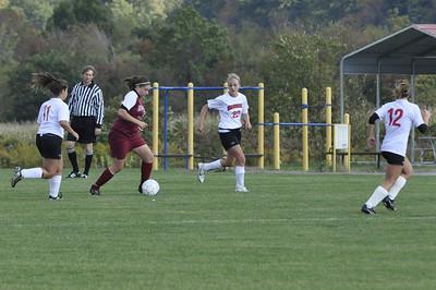 NBHS Lady Lions Soccer vs. Mohawk - 10.5.09