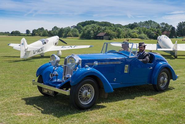Shuttleworth Wings & Wheels 2015, Old Warden, UK